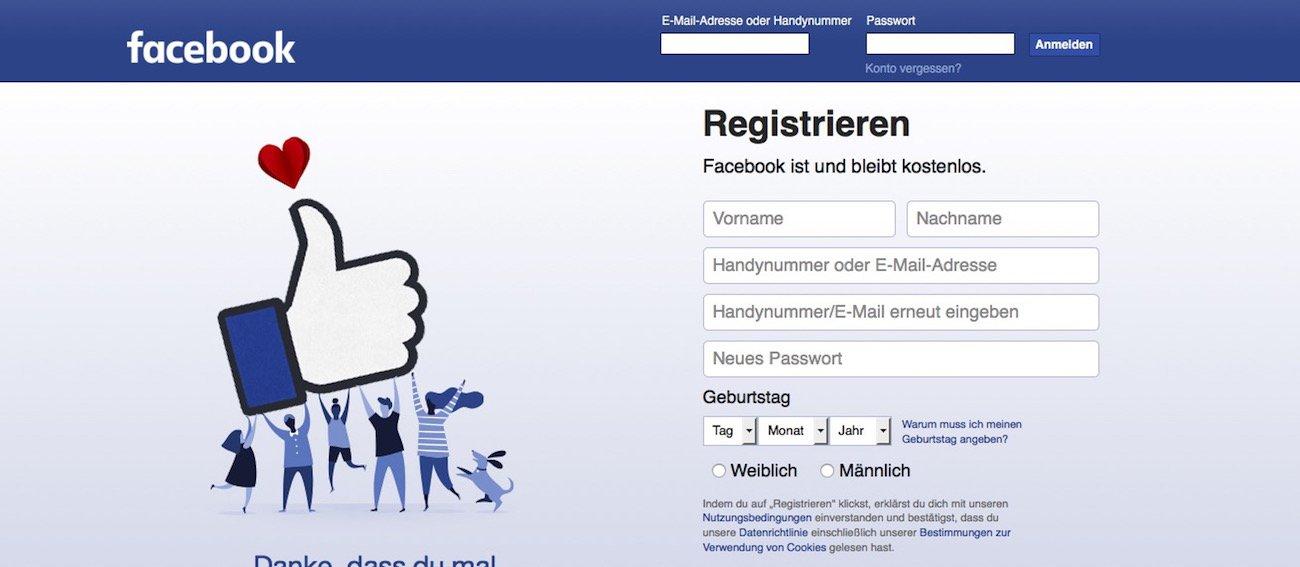 Facebook Seite Einrichten Angebot