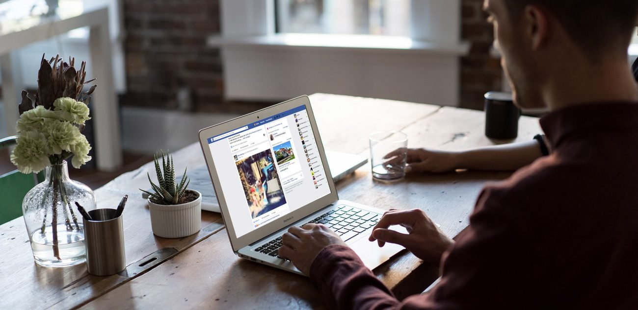 Soziale Medien Angebot