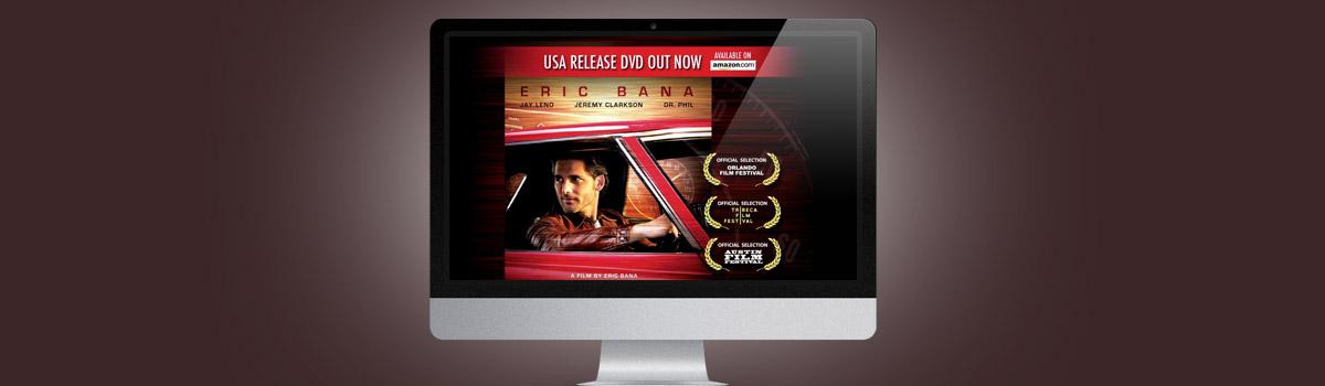 Webdesign Micro Webseite für Film und Fernsehen