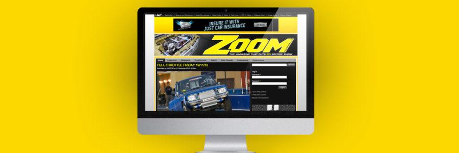 Webdesign für Online Magazin