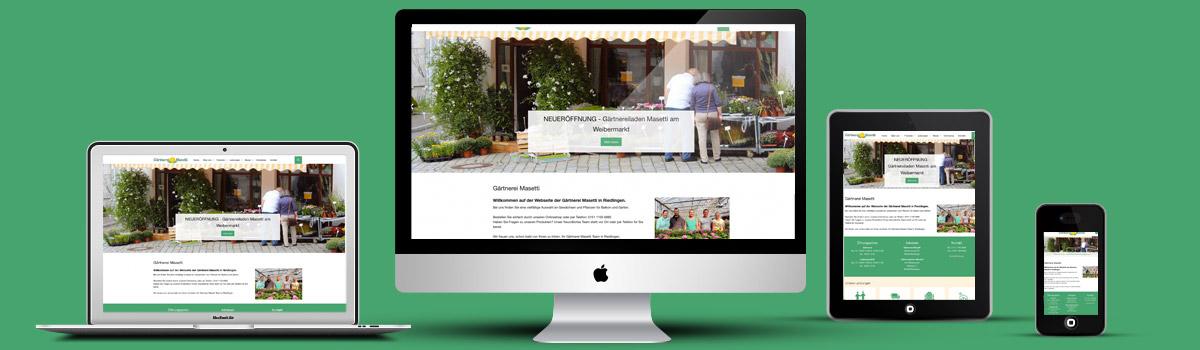Gärtnerei Masetti Onlineshop