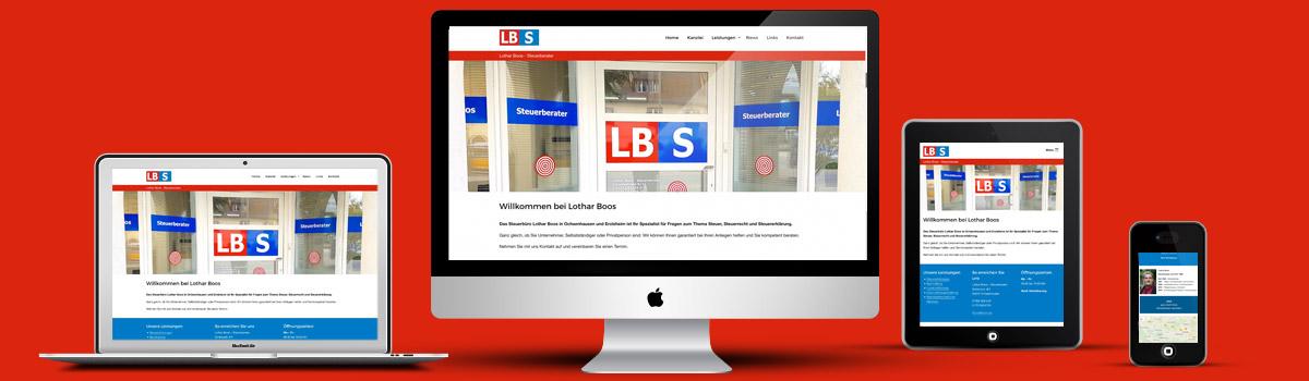Kleinermann Webdesign Wordpress Firmenwebseite - Steuerberater