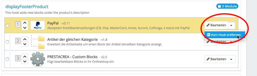 Remove Paypal Express Checkout from Prestashop | Kleinermann